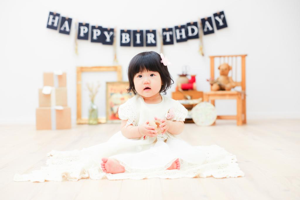 【バースディ】1歳女の子