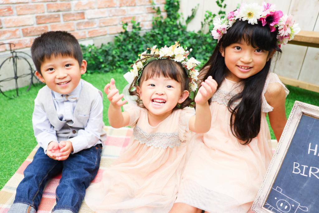 【753・バースデイ】7歳・5歳・2歳姉弟