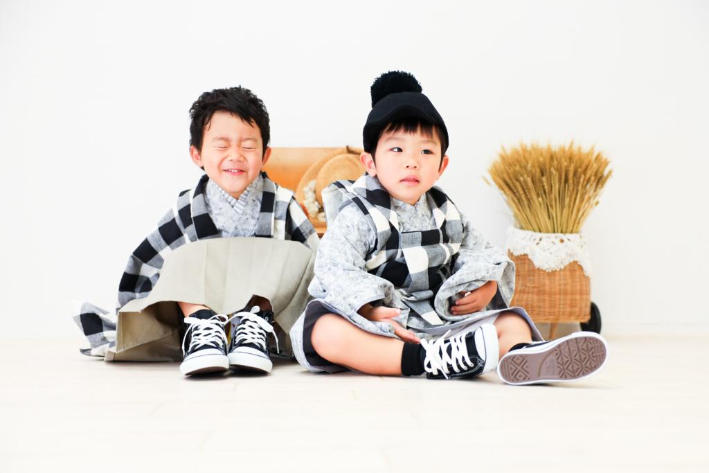 【753コラボ】5歳・3歳兄弟