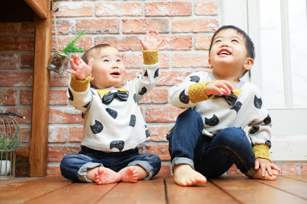 【バースデイ】3歳・1歳男の子