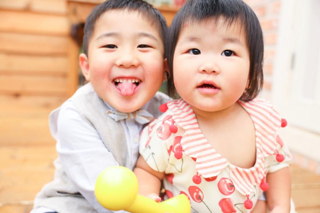 【753・バースデイ】5歳男の子・2歳女の子