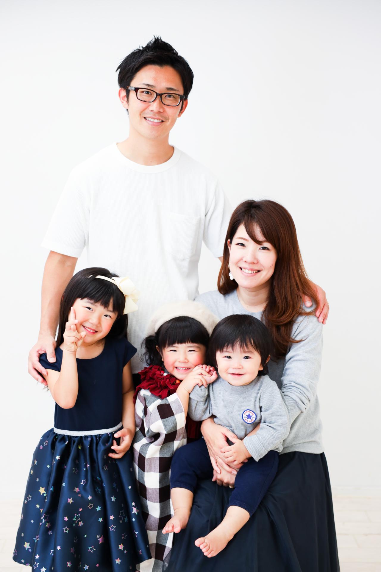 【バースデイ・753コラボ】1歳男の子・4歳女の子・2歳女の子