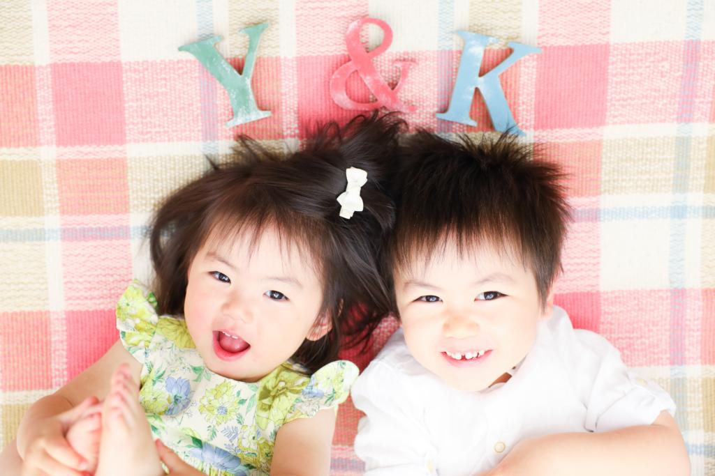 【兄弟撮影】3歳男の子・1歳女の子