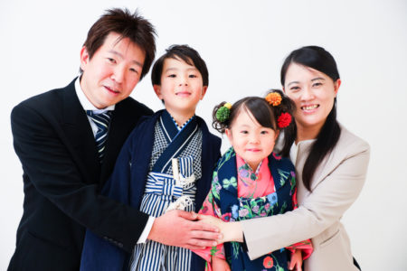 【753コラボ】5歳男の子・3歳女の子