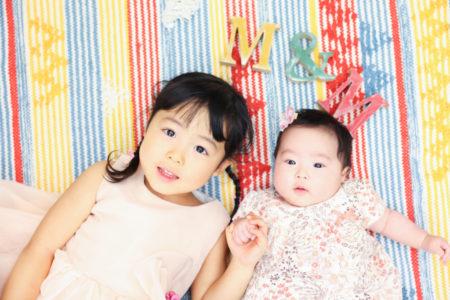 【バースデイ・100日記念】3歳女の子・0歳女の子