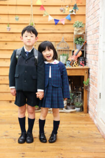 【入学・卒業】7歳男の子