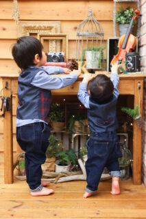 【バースデイ】1歳・3歳男の子