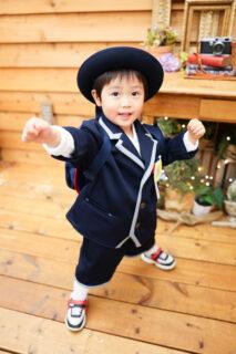 【入園・卒園】3歳男の子