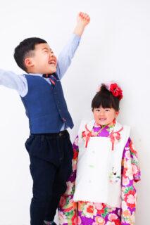 【入学・753】6歳男の子、2歳女の子