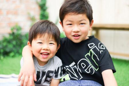 【入学・バースデイ】6歳、3歳男の子