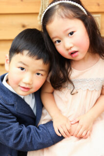 【753】4歳男の子、3歳女の子