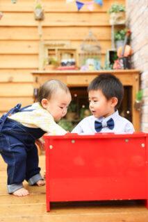 【バースデイ】4歳男の子、1歳女の子