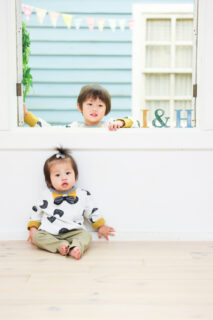 【バースデイ】4歳男の子・1歳男の子