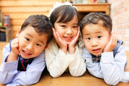 【753】6歳女の子・4歳男の子双子